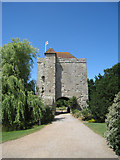 TQ5509 : Gatehouse at Michelham Priory, Upper Dicker, East Sussex by Oast House Archive