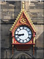 NZ2463 : Clock on the spire of St Nicholas by Mike Quinn