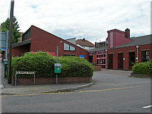 TQ7369 : Strood Library, Bryant Road, Strood by Danny P Robinson