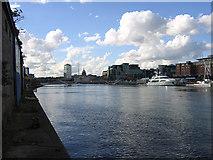 O1634 : River Liffey, Dublin by John Gibson