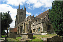 TQ8833 : St Mildred Church, Tenterden, Kent by Oast House Archive