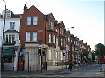 TQ2876 : Battersea Park Road / Queenstown Road, SW8 by Mike Quinn