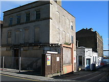 TQ7567 : Corner of Hulkes Lane and High Street, Rochester by Danny P Robinson