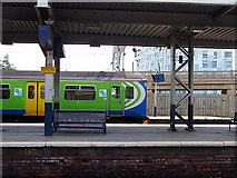 SP8633 : Bletchley Railway Station by John Lucas