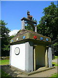 SO5212 : Naval Temple at the Kymin by Jonathan Billinger