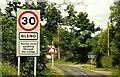 J3996 : Welcome to Gleno by Albert Bridge