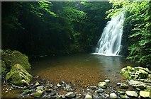 J3996 : Glenoe waterfall (33) by Albert Bridge