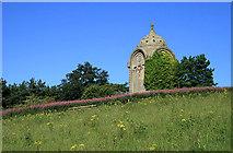 NT6126 : The Monteath Mausoleum by Walter Baxter