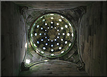 NT6126 : The domed roof of the Monteath Mausoleum by Walter Baxter