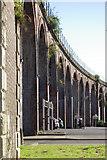 SO8455 : Railway viaduct, Worcester by Stephen McKay