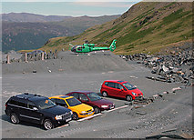 NY2213 : Honister Slate Mine by michael ely