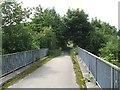 NT0767 : Bridge over the Linhouse Water by Richard Webb