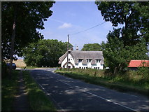 TL3852 : Wholeway Cottage, Eversden Road by Keith Edkins