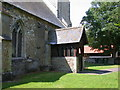 TL3753 : North porch, St Helen's Church by Keith Edkins