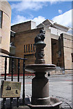 NT2573 : Greyfriars Bobby and the National Museum of Scotland by Bob Jones
