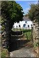 SM8526 : Llandeloy village green by Adrian Platt