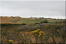 SZ2492 : Barton on Sea Golf Course across Becton Bunny by Hugh Craddock