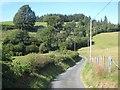 SJ0815 : Lane from Pontrobert to Llanfihangel-yng-Ngwynfa by Oliver Dixon