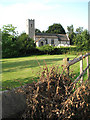 TG1216 : View towards St Andrew's church by Evelyn Simak