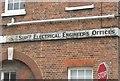 SU6200 : Old sign within Portsmouth Dockyard by Basher Eyre