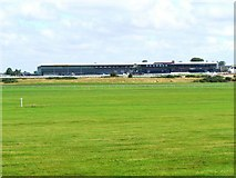 N7713 : Grandstands at the Curragh by James Allan