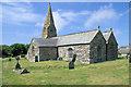 SW7857 : St Cubert's Church, Cubert by Pierre Terre