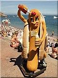 SX9265 : Oddi the hotdog by Derek Harper