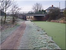 SK0101 : Coalpool Bridge - Wyrley & Essington Canal by Adrian Rothery
