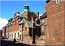 SJ9223 : County Buildings, Martin Street, Stafford by Simon Huguet
