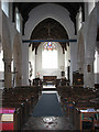 TF8541 : The church of All Saints - view east by Evelyn Simak
