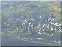 NS3373 : Eastern Port Glasgow from the air by Thomas Nugent