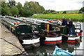 SP4407 : Narrowboats by Pierre Terre