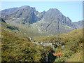 NG5421 : Hillside around the Allt na Dunaiche by Nigel Brown