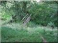 SJ2533 : Footbridge near Orseddwen Farm by Tim Heaton