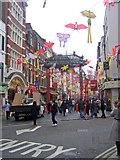 TQ2980 : Gerrard Street, Soho, London by Oast House Archive