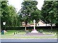 TM1478 : War Memorial & Village Sign, Scole by Geoff Pick