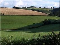 SX8460 : Valley from Glazegate Lane by Derek Harper