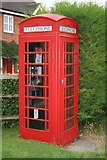 SU5985 : Weedon Close  phone box by Bill Nicholls