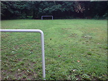 TQ7668 : Football Play Area off Maxwell Road by Danny P Robinson
