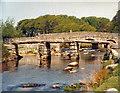 SX6478 : The two bridges at Postbridge by Keith Edkins