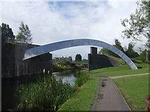 SO9399 : Wyrley & Essington Canal - Demolished Railway Bridge by John M