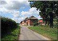 TG3109 : Witton Lane past Cherry Tree Farm by Evelyn Simak
