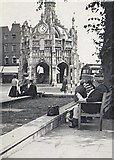 SU8604 : Market Cross, Chichester (1953) by Stanley Howe