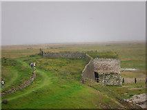 NU1341 : Lime kiln near Lindisfarne Castle by Chris Gunns