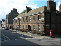 TQ7668 : Corner of Garden Street and Mansion Row, Brompton by Danny P Robinson