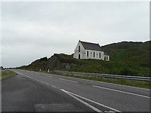 NM7582 : Polnish: church of Our Lady of the Braes by Chris Downer