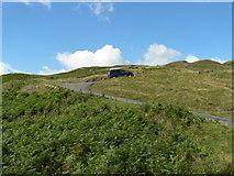 NY2201 : Hardknott Pass: a stiff climb by Chris Downer