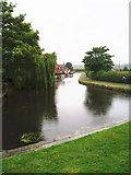 SK5023 : The River Soar at Zouch by Eirian Evans