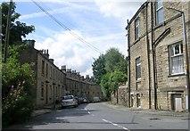 SE1115 : Britannia Road - Scar Lane, Milnsbridge by Betty Longbottom