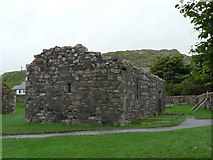 NM2824 : Isle of Iona: St. Ronan's church by Chris Downer